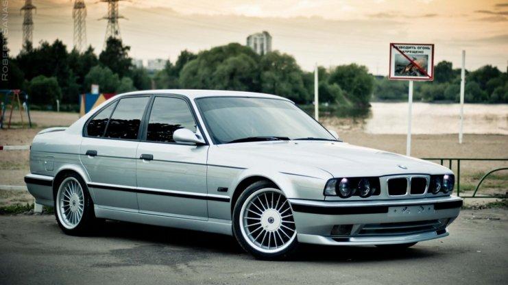 3D тюнінг BMW E34 5 серії: бампера, фар, диски і інше, фото