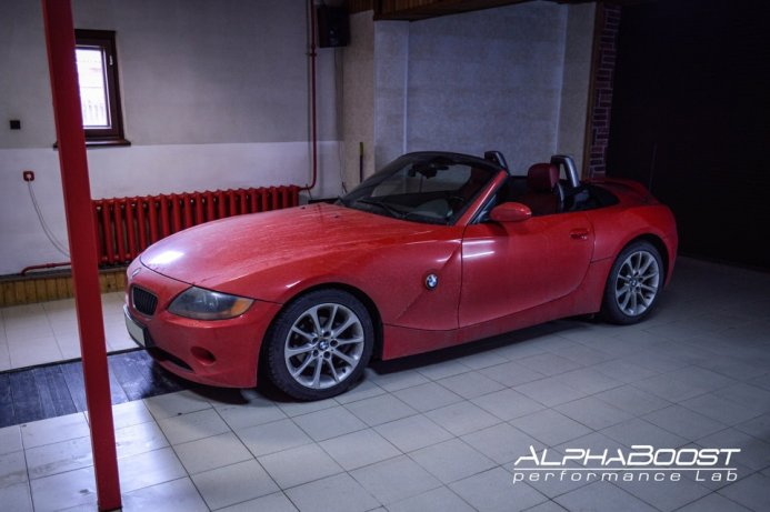 Чип-тюнинг BMW Z4 E85. — AlphaBoost