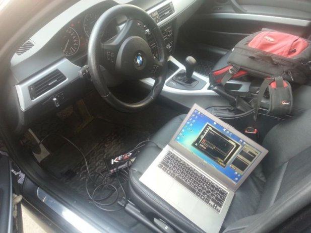 Чіп-тюнінг і видалення каталізатора BMW 3 E90