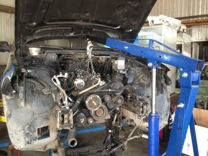 Капитальный ремонт двигателя M57N BMW X5 E53 .часть 1. — DRIVE2