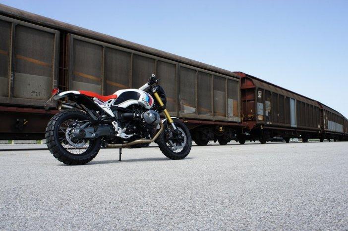 Мотоцикл BMW Paris-Dakar R nineT / Мото тюнинг / БайкПост