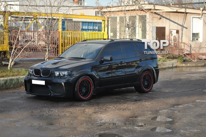 Тюнинг - Обвес HTS на BMW X5 E53